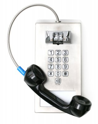 Anti-Suicide Cord-out-of-top Jail Phone [CT-3500]